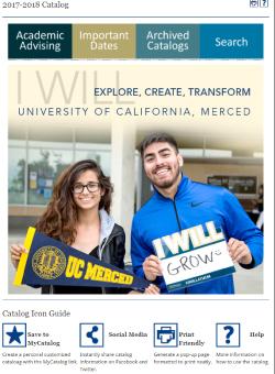UC Merced Catalog